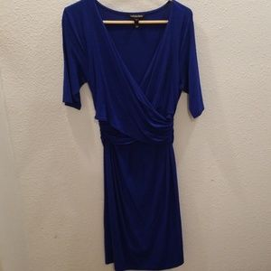 Isabella Oliver dark blue maternity dress- size 4